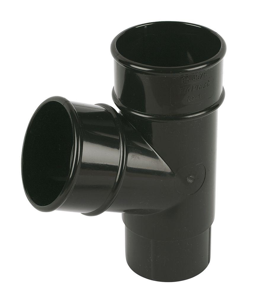 FloPlast  Pipe Branch 68mm Black