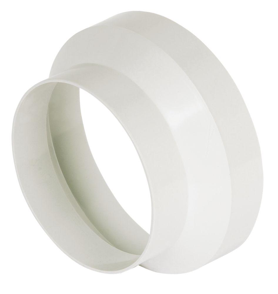 Manrose Round Central Reducer White 125-100mm
