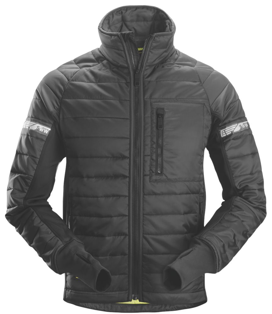 """Snickers 8101 Insulator Jacket Black Large 43"""" Chest"""