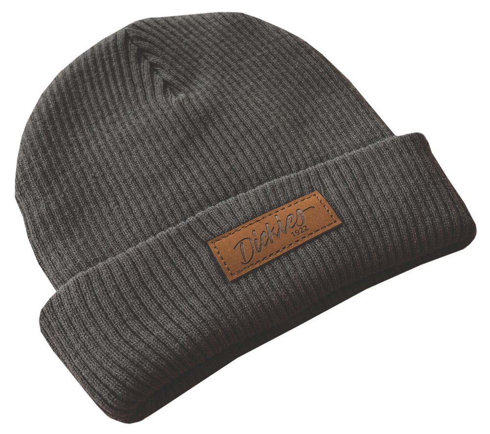 Dickies Evadale Soft-Knit Beanie Grey