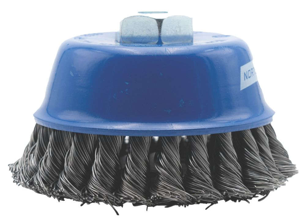 Norton Twisted Wire Cup Brush 65mm