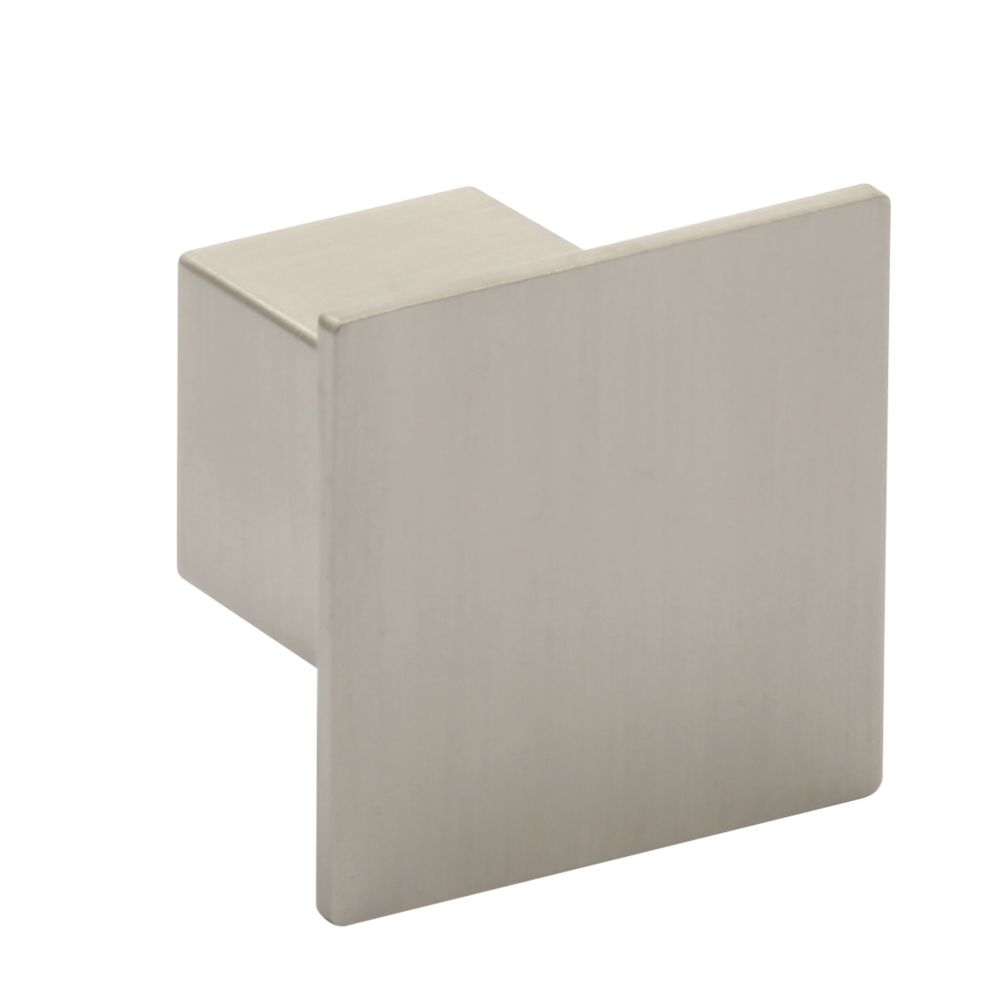 Hafele Modern Cabinet Knob Brushed Stainless Steel 37mm