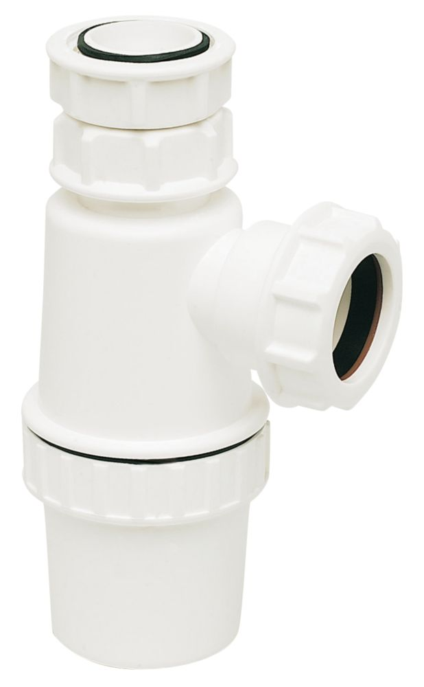 FloPlast Telescopic Bottle Trap White 32mm
