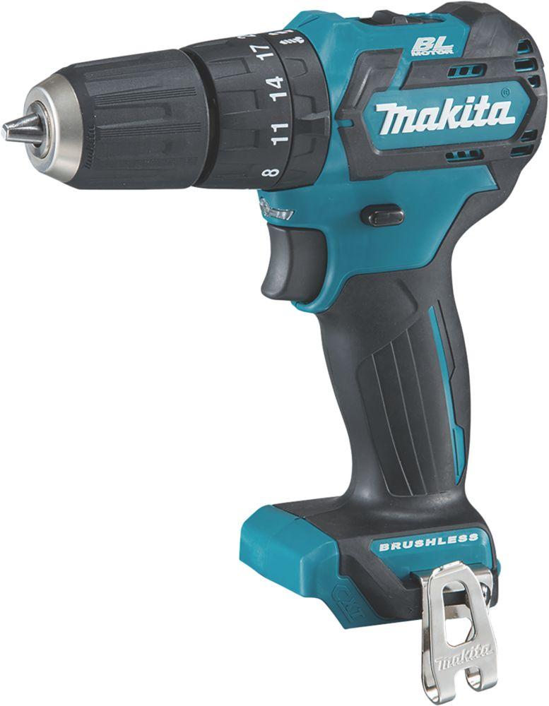 Makita HP332DZ 10.8V Li-Ion CXT Brushless Cordless Combi Drill - Bare