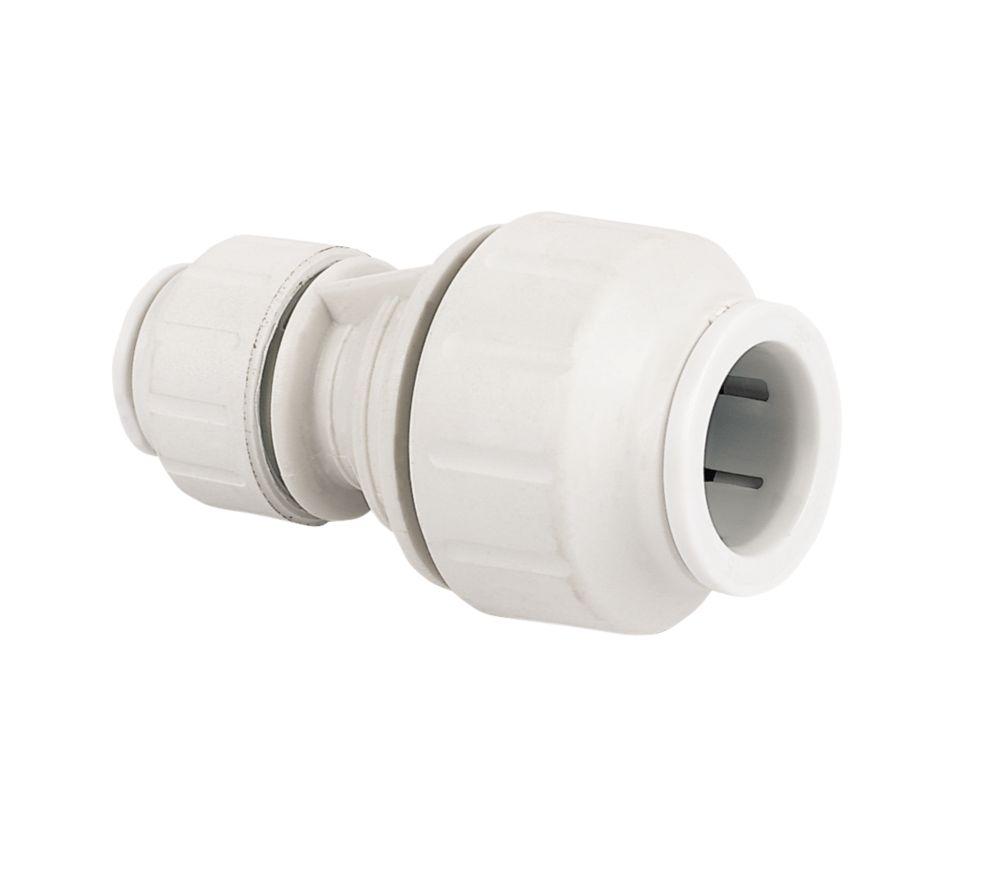 JG Speedfit  Plastic Push-Fit Reducing Coupler 15 x 10mm