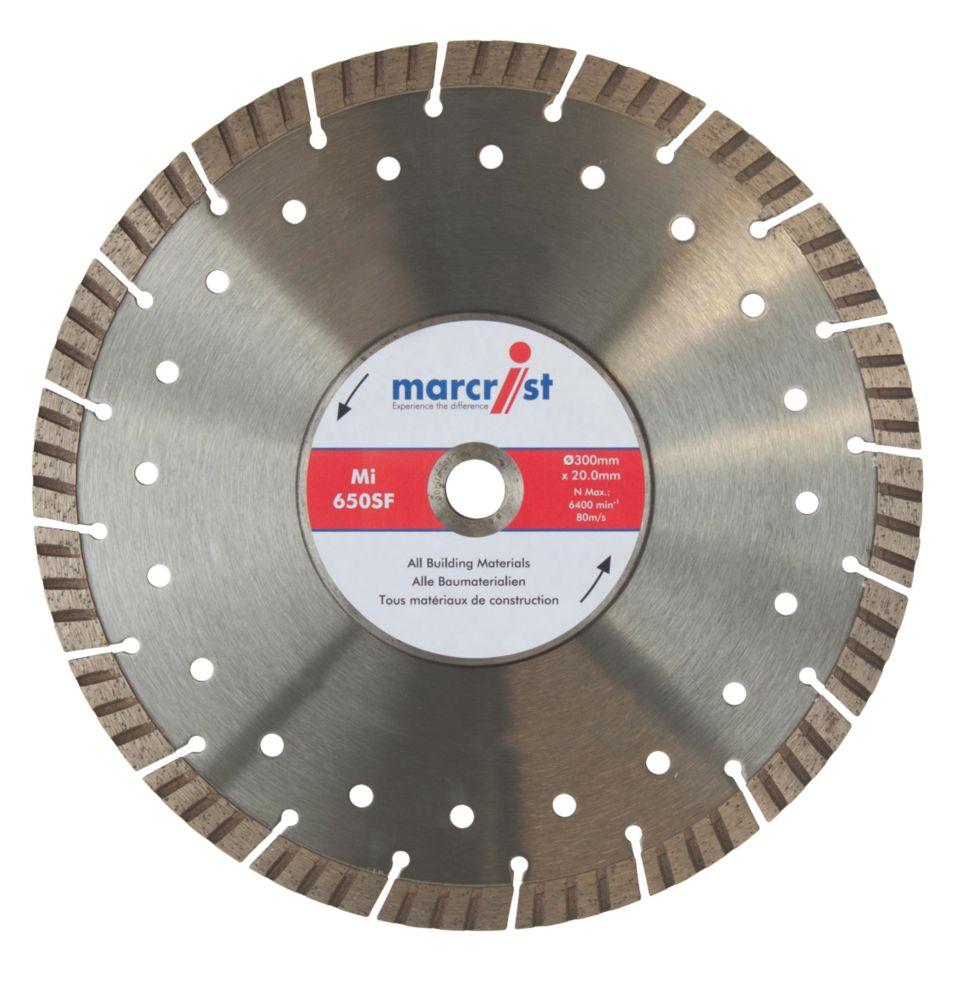 Marcrist  Concrete/Stone Segmented Turbo Diamond Blade 300 x 20mm