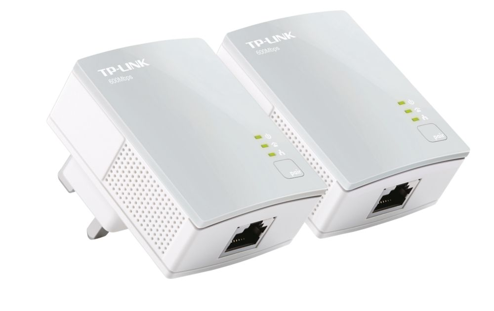 TP-Link TL-PA4010KIT V1.20 N600 Powerline Starter Kit 2 Pack
