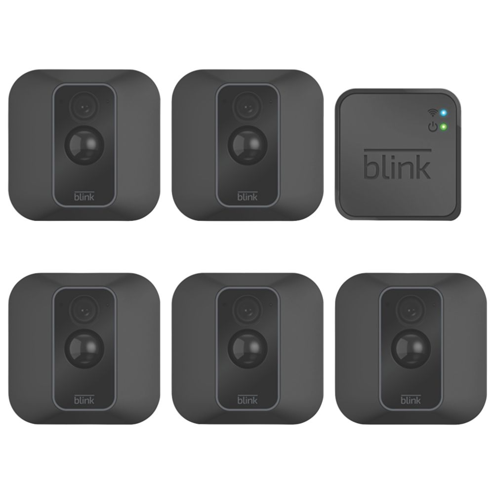 Blink XT2 Wireless Smart Camera System with 5 Cameras