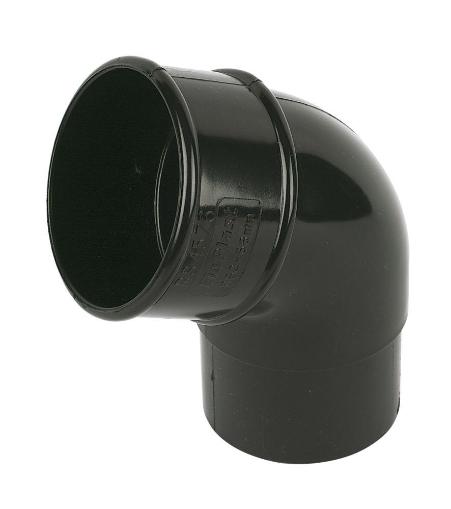 FloPlast  112.5° Offset Bend 68mm Black
