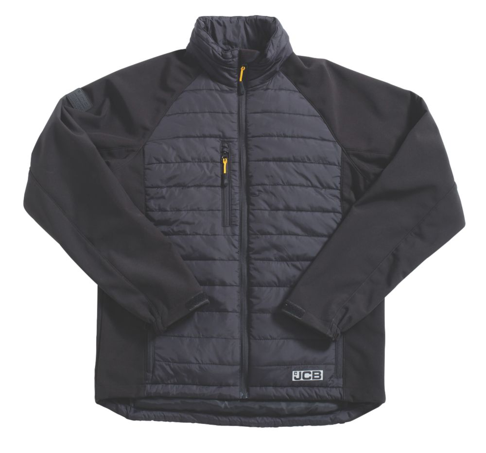 "JCB Eco Max 1945 Jacket Black X Large 48"" Chest"
