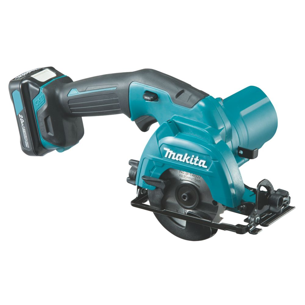 Makita HS301DWAE 85mm 12V 2.0Ah Li-Ion CXT  Cordless Circular Saw