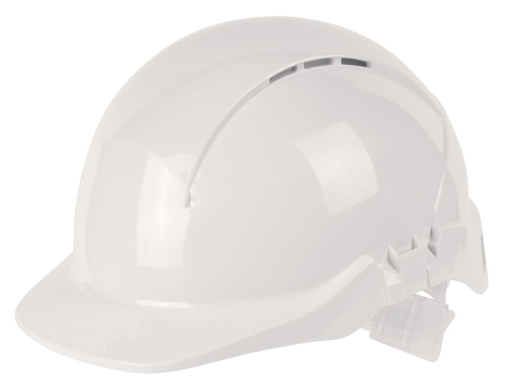 Centurion Concept Full Peak Vented Safety Helmet White