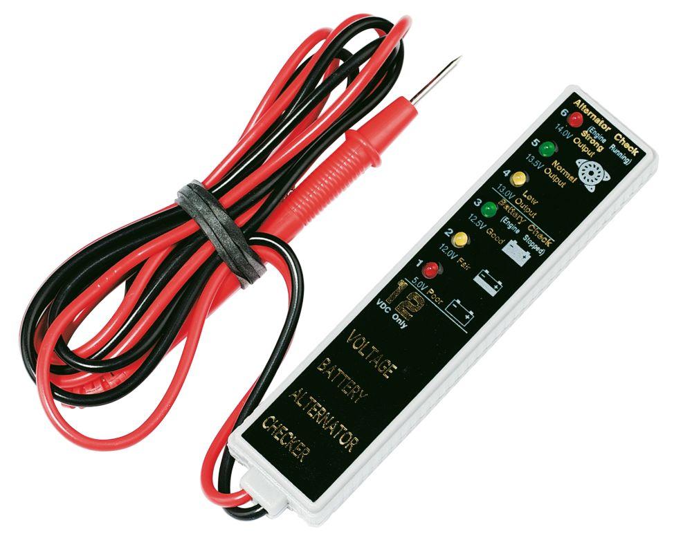 Laser Battery / Alternator Tester