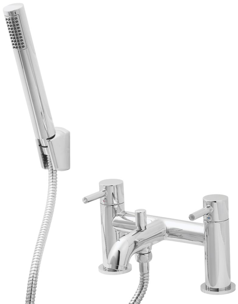 Hoffell Deck-Mounted  Bath/Shower Mixer Tap