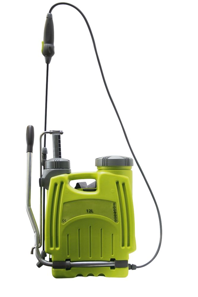 Verve 7217  Green & Grey Backpack Sprayer 12Ltr