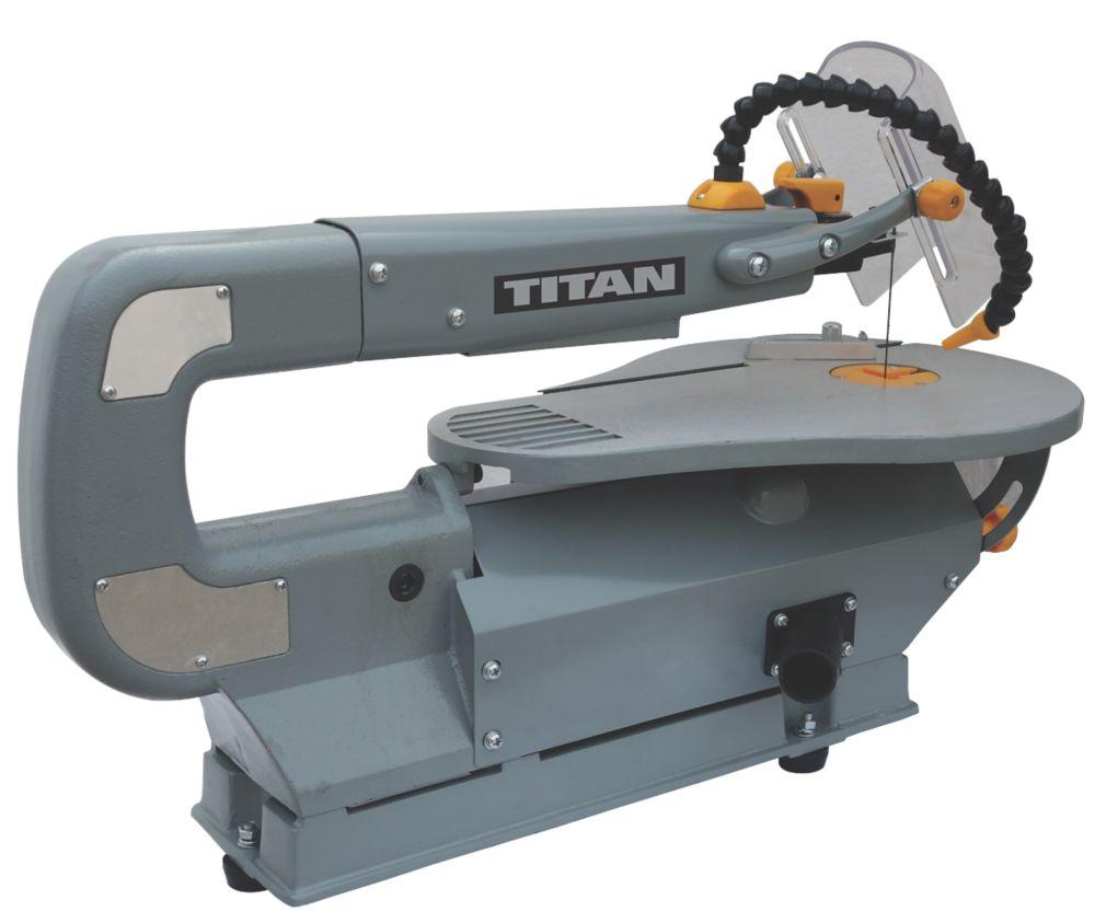 Titan TTB703SSW 410mm Electric Scroll Saw 240V