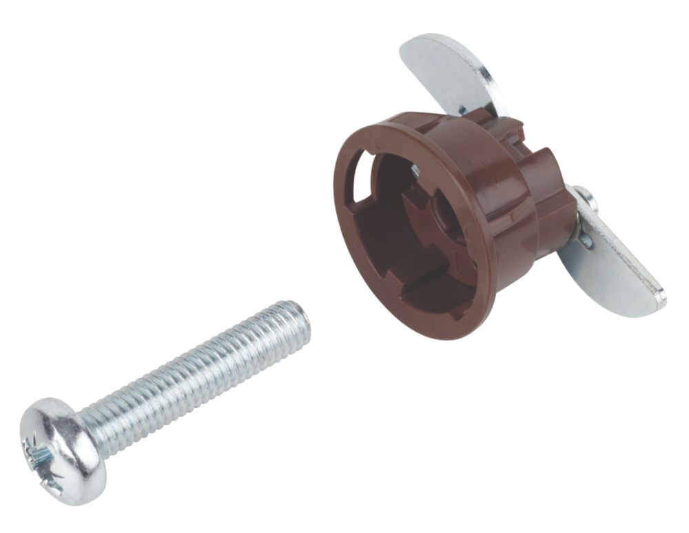 GripIt Brown Plasterboard Fixings 20 x 14mm 8 Pack