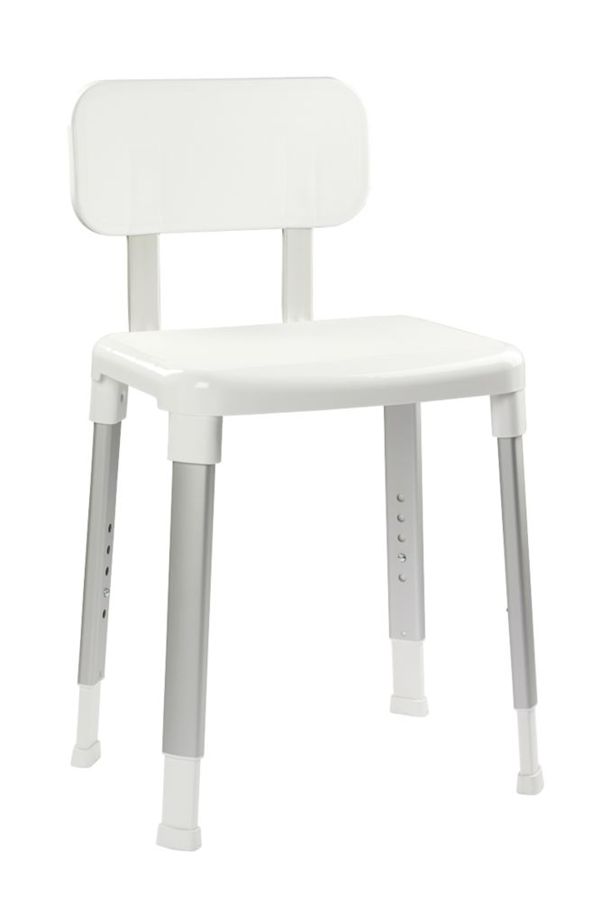 Croydex Freestanding Modular Shower Seat White