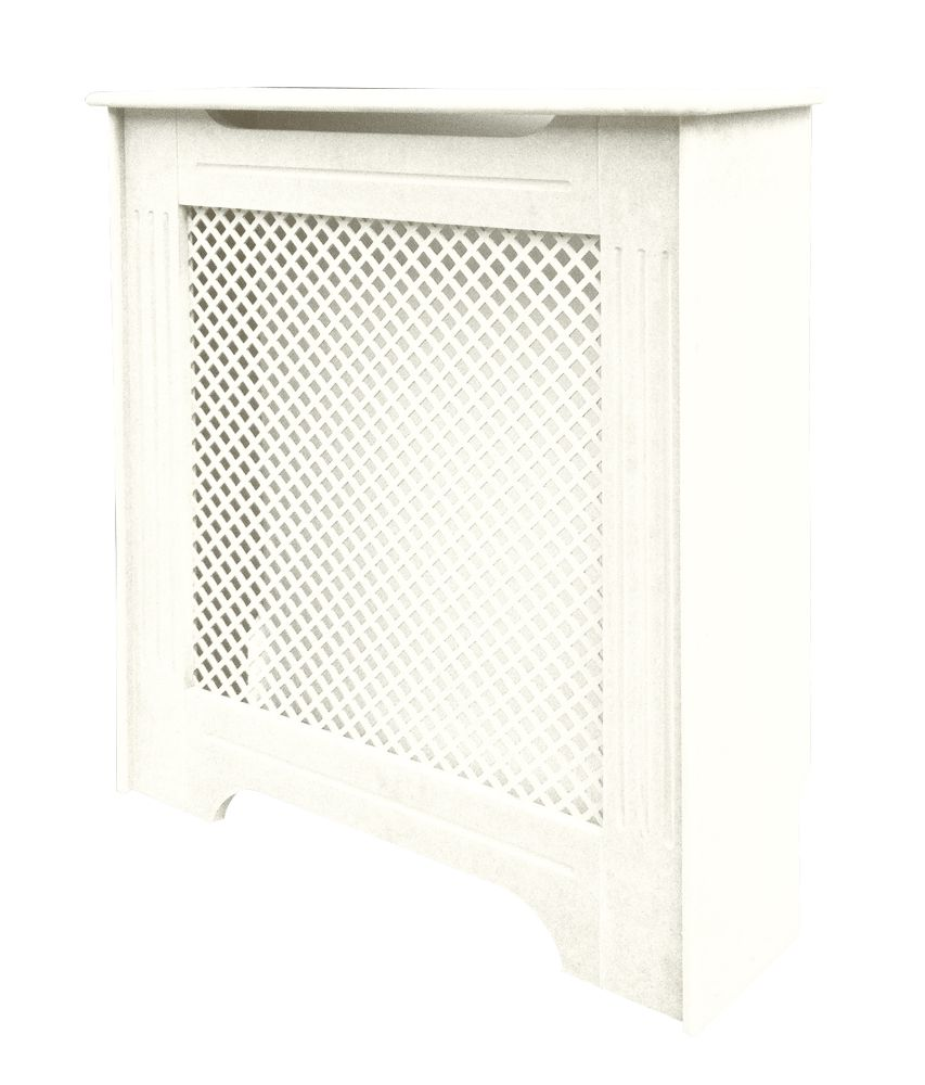 Victorian Radiator Cover White 820 x 210 x 868mm