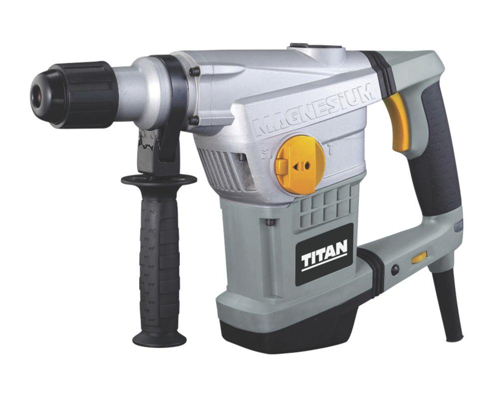 Titan TTB571SDS 7.7kg Electric  SDS Max Drill 230-240V