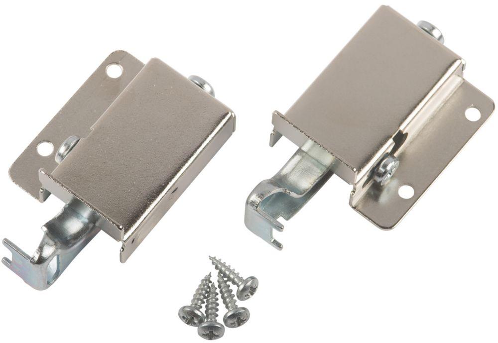 Suki Cabinet Suspension Hanger Silver 15 x 64 x 39mm 2 Pack