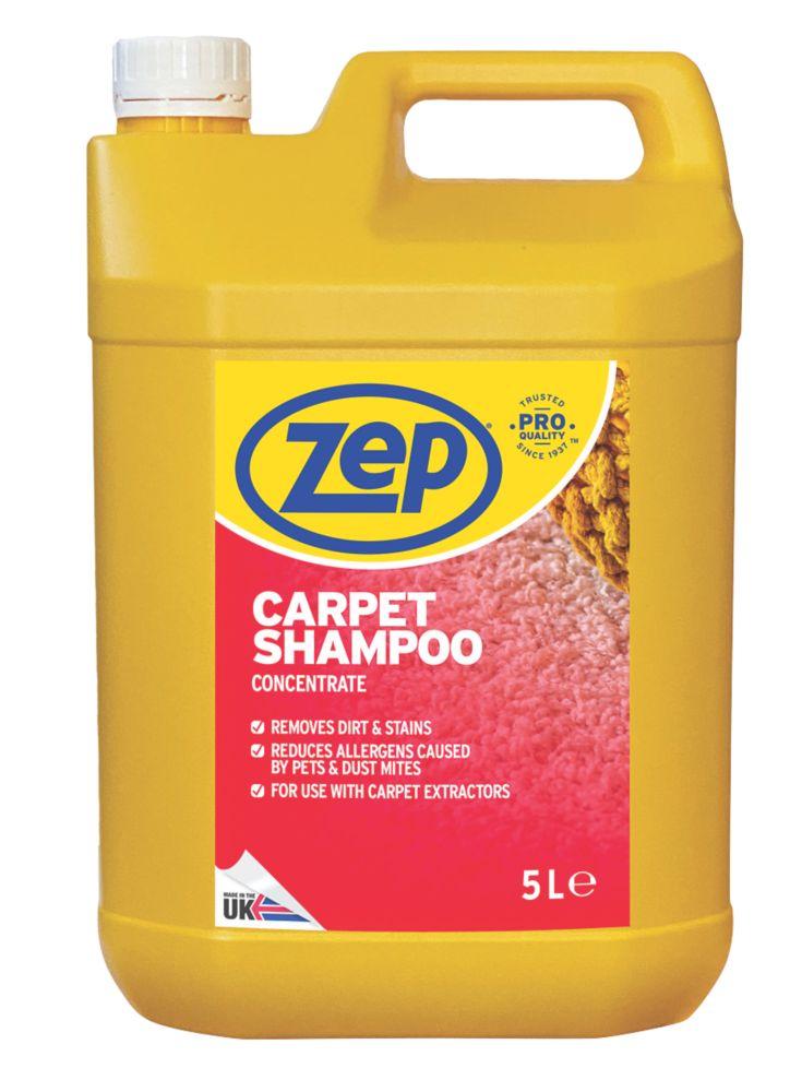 Zep Commercial Carpet Shampoo Concentrate 5Ltr
