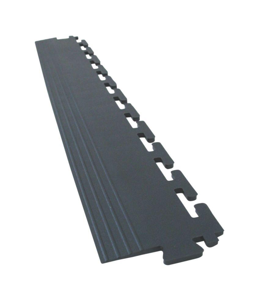 COBA Europe Tough-Lock Eco Floor End Mat Black 500 x 65mm 4 Pack