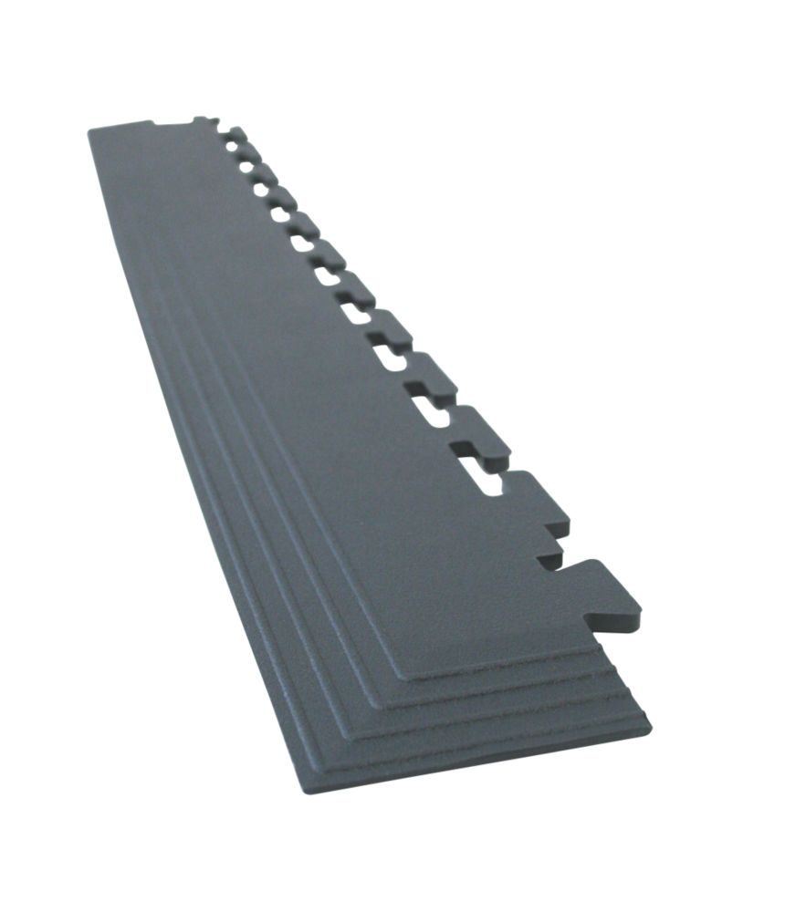 COBA Europe Tough-Lock Floor Corner Mat Black 575 x 65mm 4 Pack