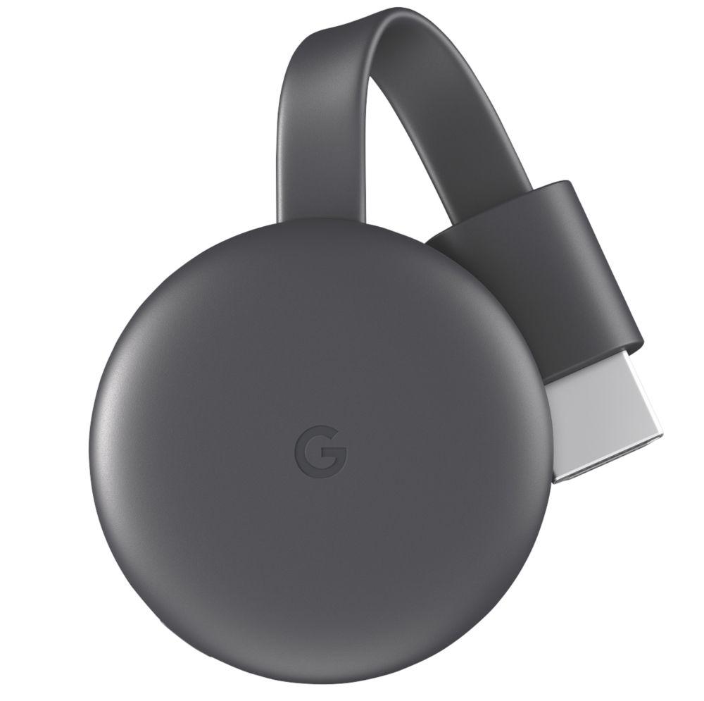 Google Nest Chromecast Media Streaming Device Charcoal