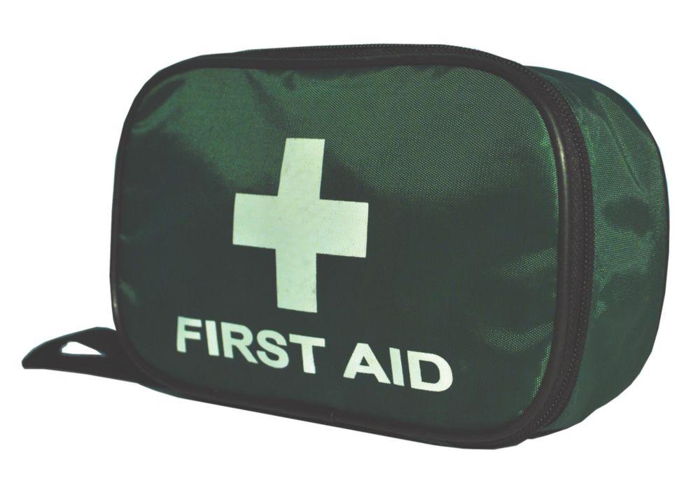 Wallace Cameron Astroplast Green Pouch British Standard Travel First Aid Kit Medium