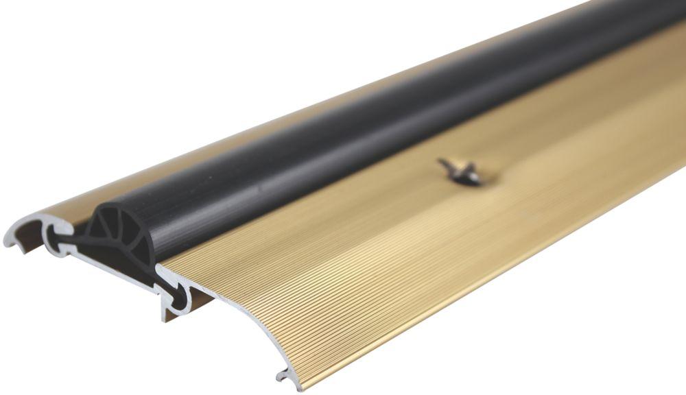 Diall Rubber Door Threshold Gold 914mm