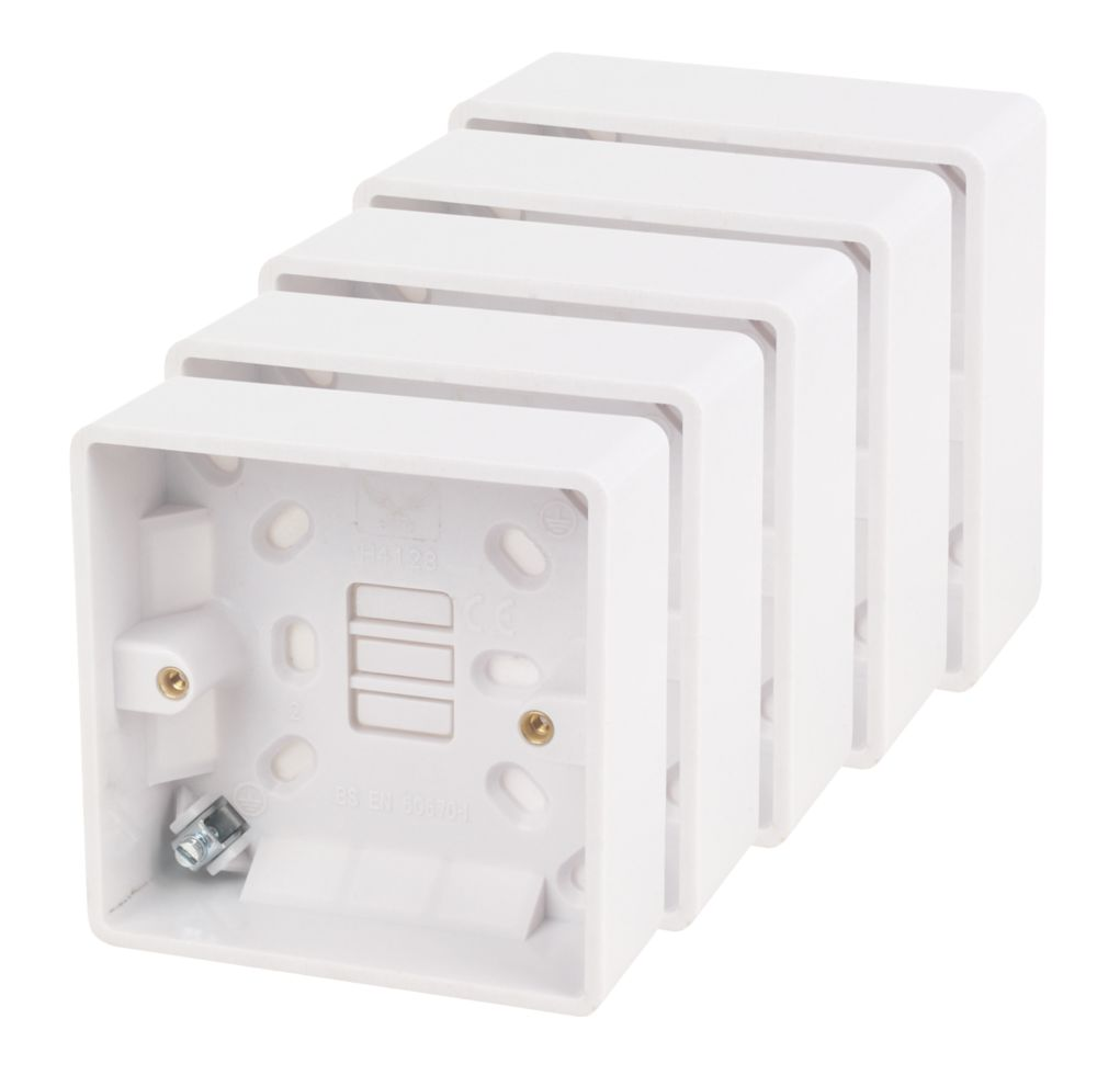 LAP 1G Moulded Box 32mm Pack of 5