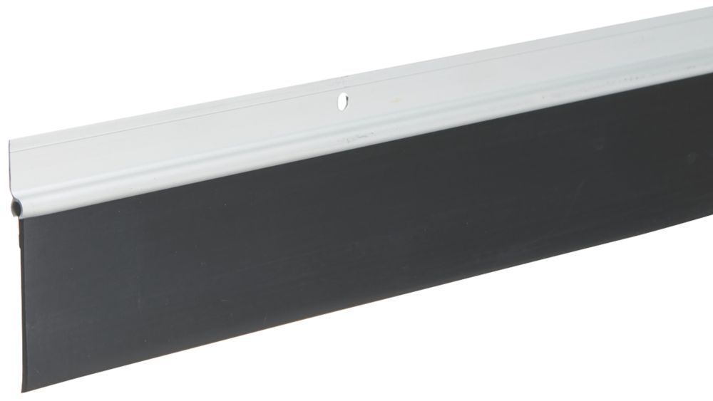Diall Garage Door Draught Excluder Silver 1.25m 2 Pack