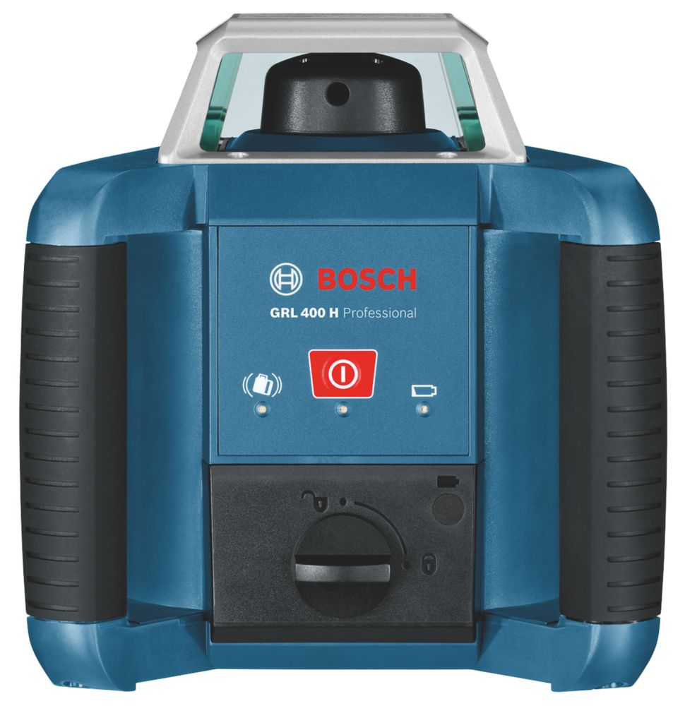 Bosch GRL400 Red Self-Levelling Rotary Laser Level With Receiver