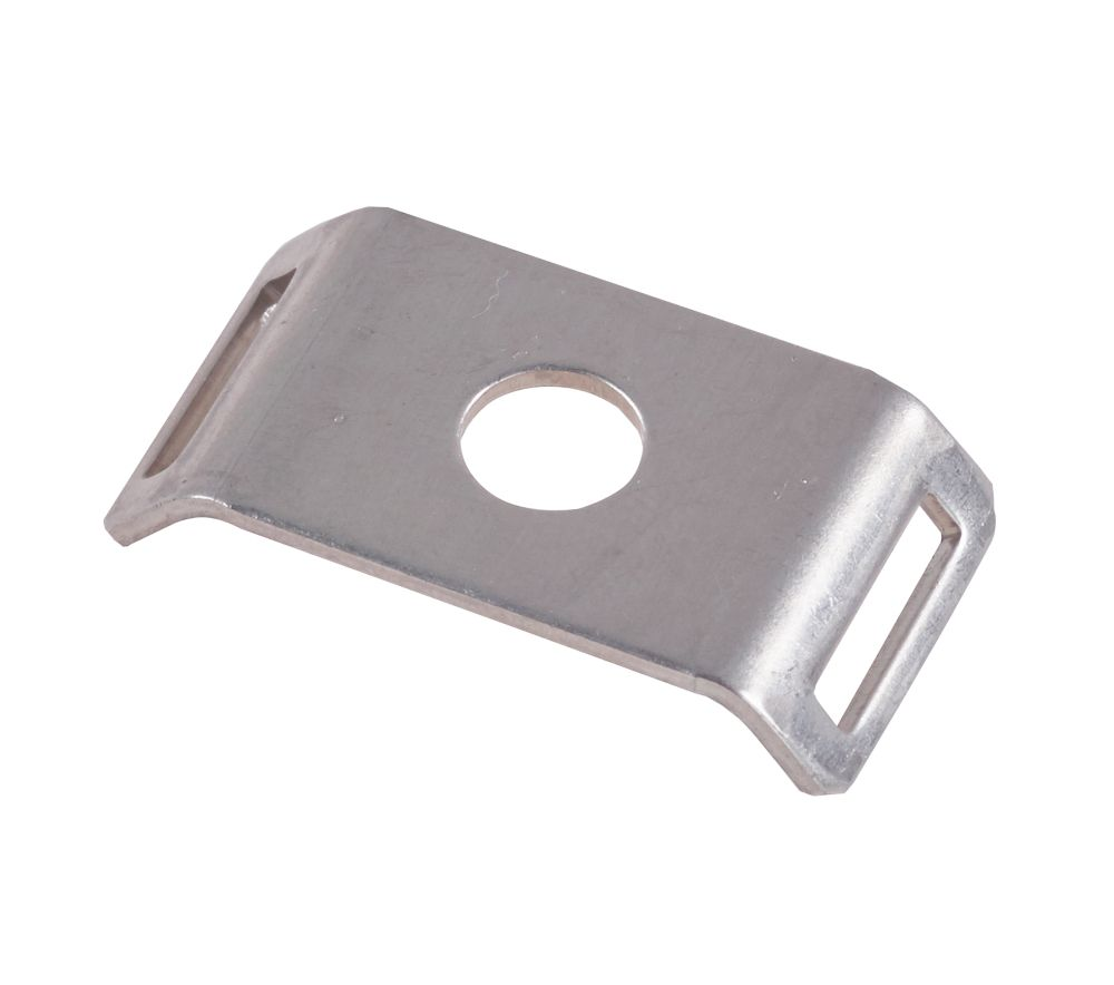 Schneider Electric Fire Retainer Anchors Silver 29 x 15mm 100 Pack