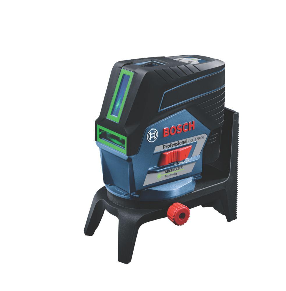 Bosch GCL 2-50 CG 12V 2.0Ah Li-Ion  Green Self-Levelling Combi Laser Level