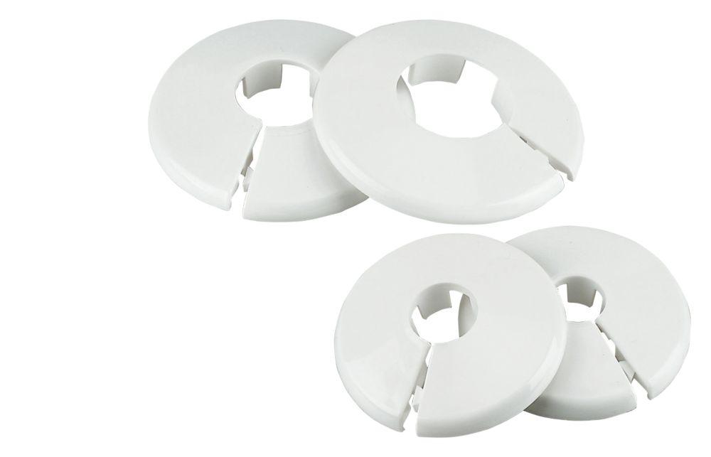 Talon 10mm Pipe Collar White 10 Pack