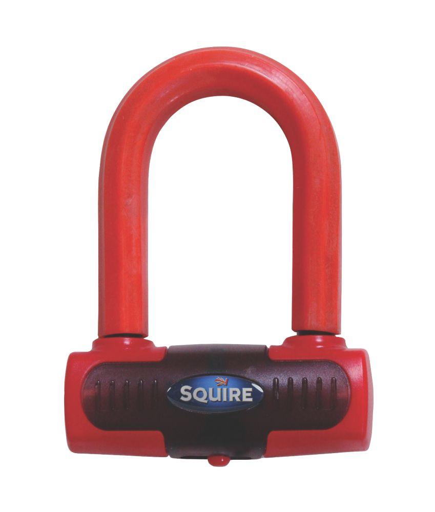 Squire Eiger Mini Red Brake Disc Lock 100 x 140mm