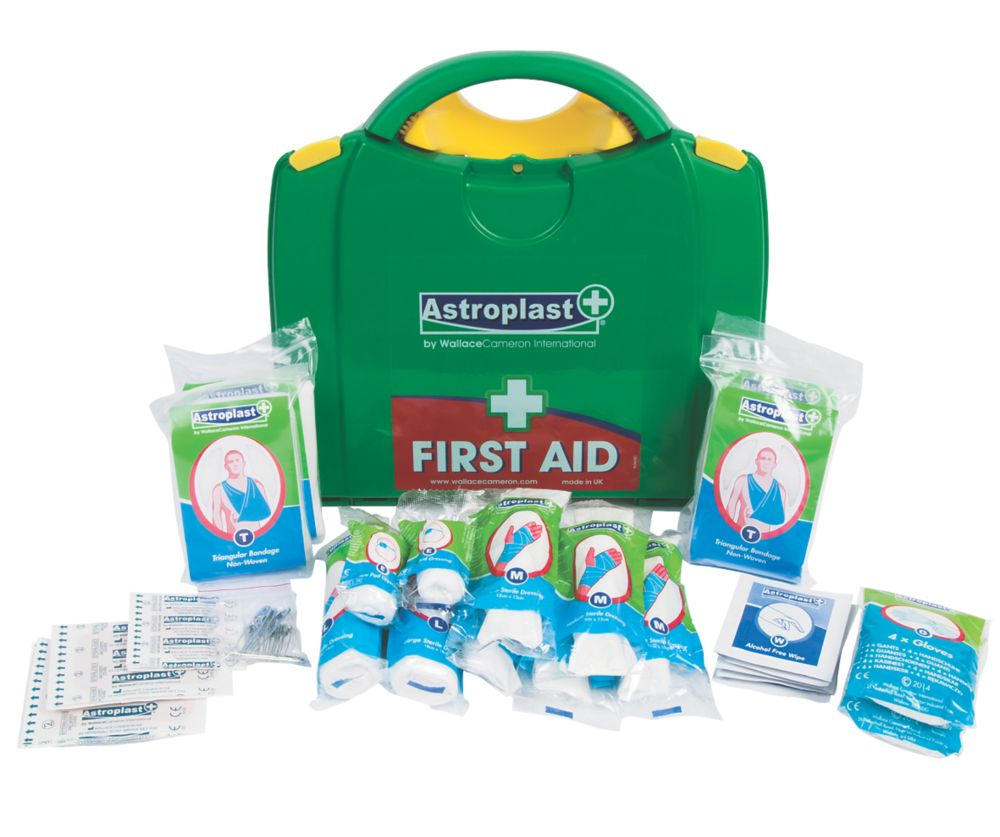 Wallace Cameron 1002114 PGB 10 Person HSE First Aid Kit