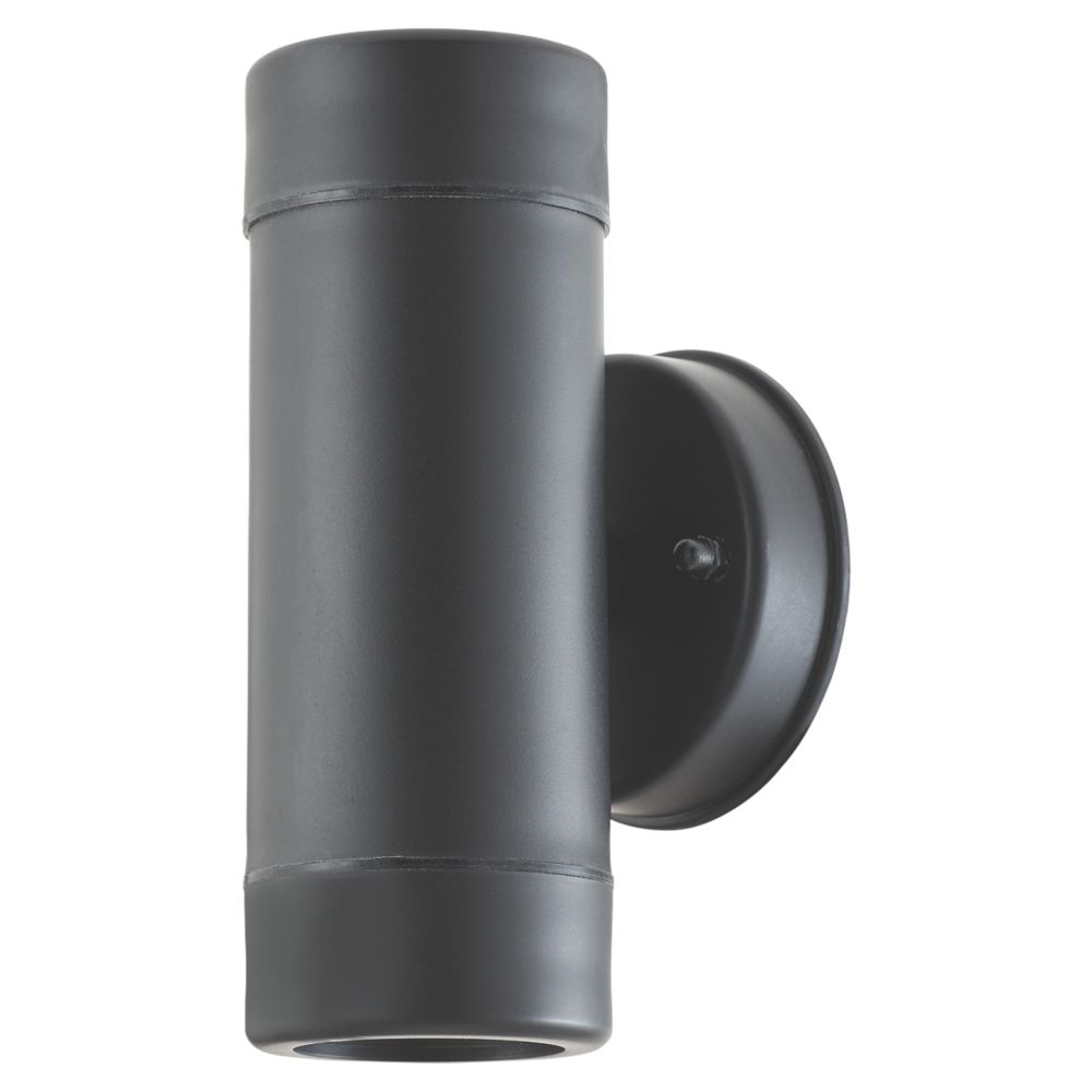 LAP  Outdoor Up & Down Outdoor Wall Light Black