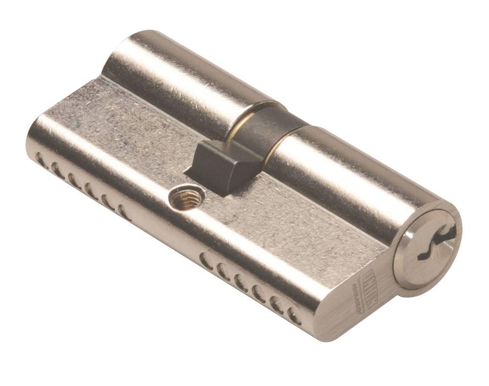 Union 6-Pin Euro Cylinder Lock 35-35 (70mm) Satin Nickel