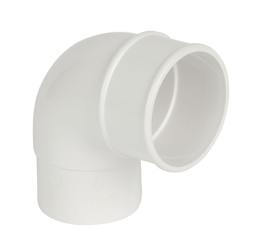 FloPlast  92.5° Offset Bend 68mm White