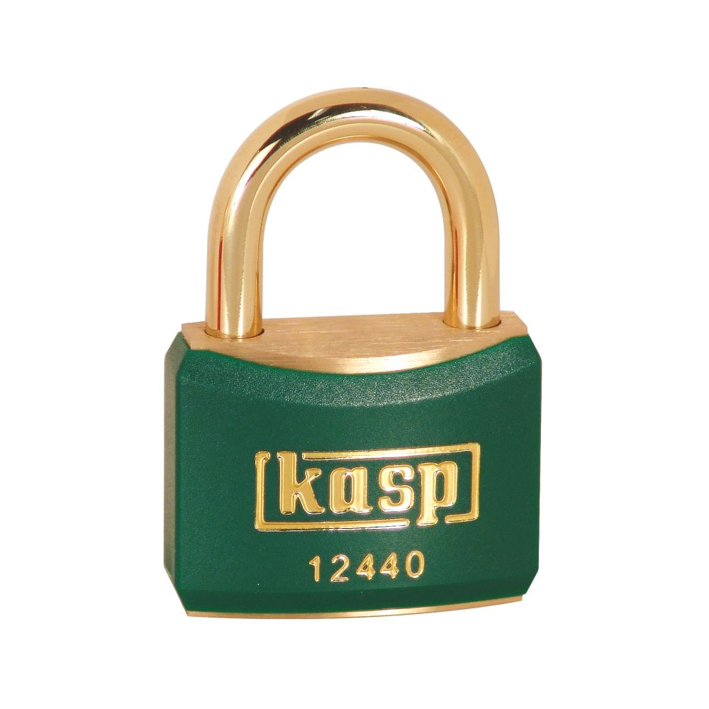 Kasp  Lockout Padlock Green 20 x 21mm