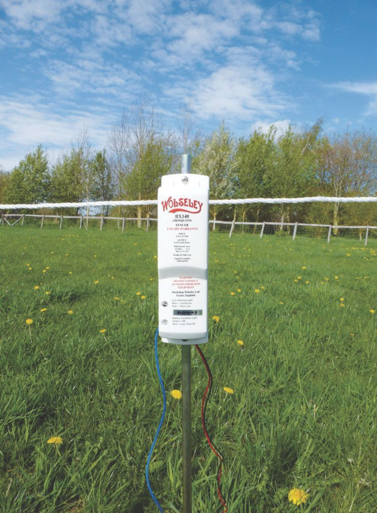 Stockshop BX140 Electric Fence Energiser Battery-Powered