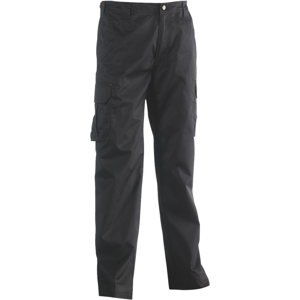 "Herock Thor Work Trousers Black 32"" W 32/34"" L"