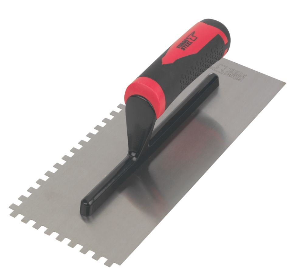 "Forge Steel  6mm Adhesive Trowel 11 x 4½"""