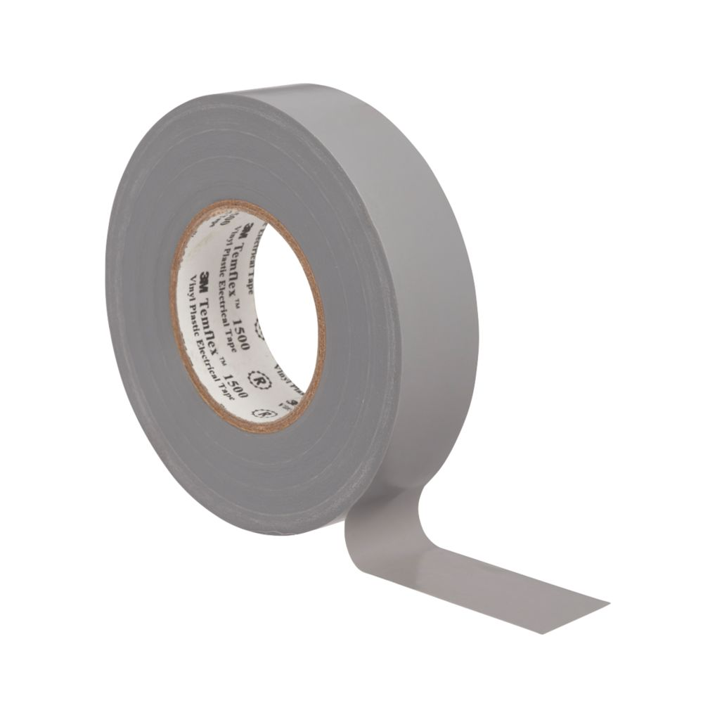 3M Temflex Insulating Tape Grey 25m x 19mm