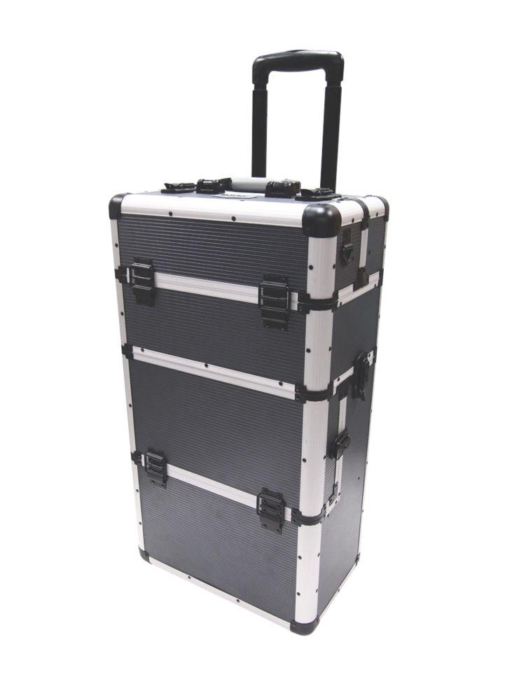 Mac Allister  Aluminium Mobile Storage Centre