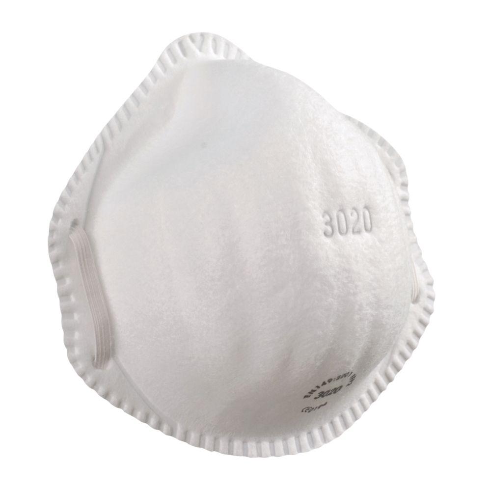 Alpha Solway 3020 Moulded Disposable Masks P2 20 Pack