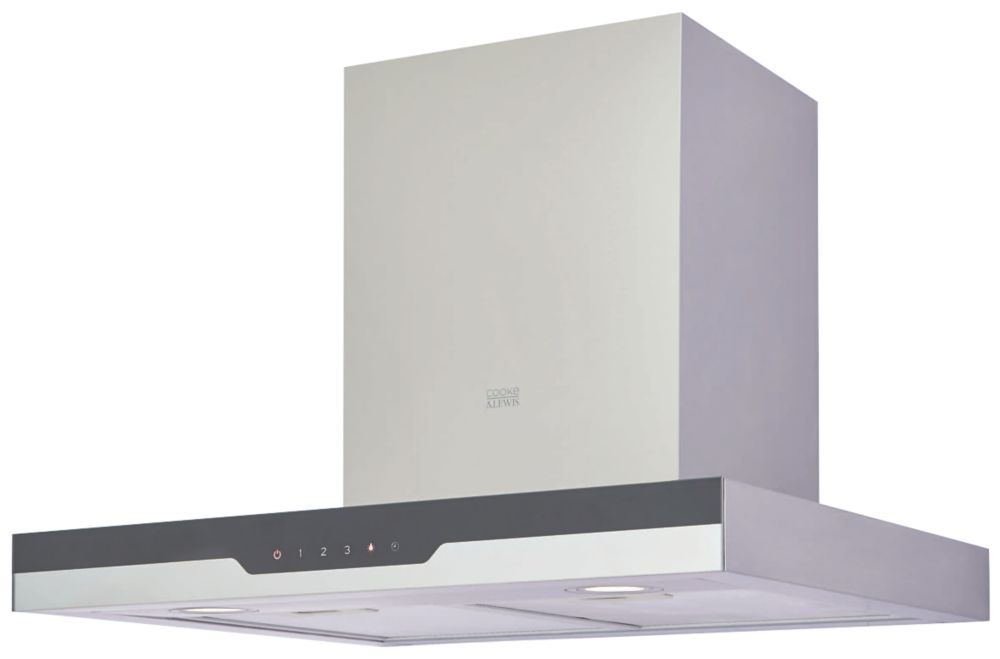 Cooke & Lewis CLBHS60 Box Chimney Hood Stainless Steel 600mm